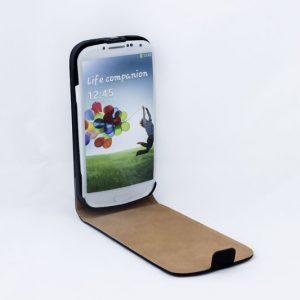 Geffy - Etui Samsung Galaxy S4 Eco Leather flip black