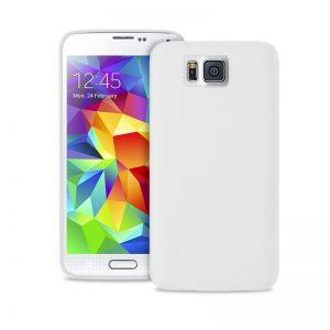 """PURO Ultra Slim """"0.3"""" Cover - Etui Samsung Galaxy Alpha (półprzezroczysty)"""