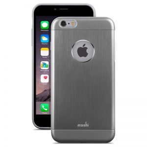Moshi iGlaze Armour - Etui aluminiowe iPhone 6s Plus / iPhone 6 Plus (Space Grey)