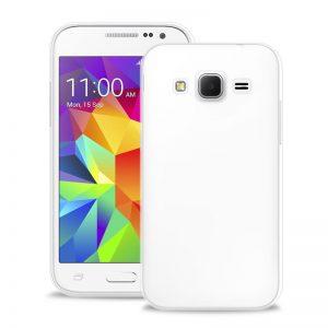 """PURO Ultra Slim """"0.3"""" Cover - Etui Samsung Galaxy Core Prime (półprzezroczysty)"""