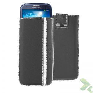 Valenta Pocket Stripe - Skórzane etui wsuwka Samsung Galaxy S4/S III