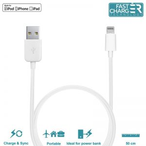 PURO Kabel połączeniowy USB Apple złącze Lightning MFi 0