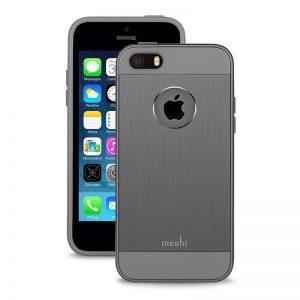 Moshi iGlaze Armour - Etui aluminiowe iPhone SE / iPhone 5s / iPhone 5 (Gunmetal Gray)