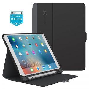 "Speck StyleFolio Pencil - Etui iPad Pro 9.7"" (Black/Slate Grey)"