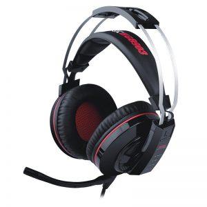 Marvo HG8903 - Słuchawki stereofoniczne dla graczy z mikrofonem + podświetlenie LED (czarny/czerwony)
