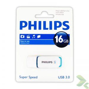 Philips Pendrive USB 3.0 16GB - Snow Edition (niebieski)