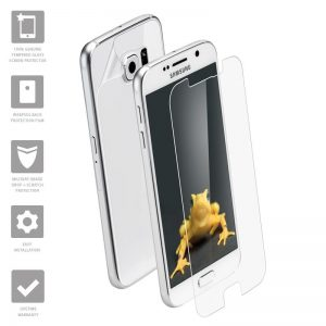 Wrapsol Hybrid - Hartowane szkło ochronne 9H + folia na obudowę do Samsung Galaxy S7