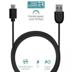 PURO Type-C Charge & Sync Cable - Kabel USB-C 3.1 na USB-A 3.1 do ładowania & synchronizacji danych