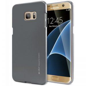 Mercury I-Jelly - Etui Samsung Galaxy S7 Edge (szary)