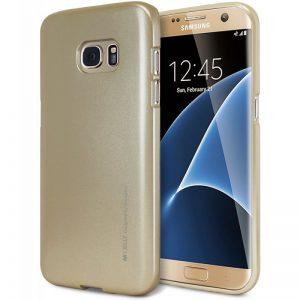 Mercury I-Jelly - Etui Samsung Galaxy S7 Edge (złoty)
