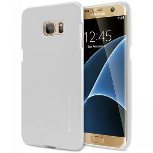Mercury I-Jelly - Etui Samsung Galaxy S7 Edge (srebrny)