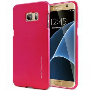 Mercury I-Jelly - Etui Samsung Galaxy S7 Edge (różowy)