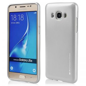 Mercury I-Jelly - Etui Samsung Galaxy J5 (2016) (srebrny)