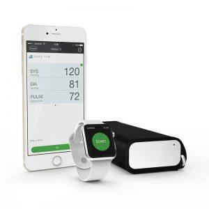 QardioArm Smart Blood Pressure Monitor - Ciśnieniomierz z funkcją wykrywania arytmii serca dla iOS i Android (Arctic White)