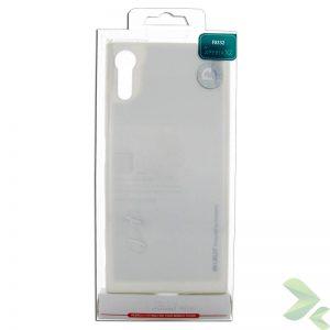 Mercury I-Jelly - Etui Sony Xperia XZ (srebrny)