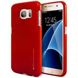 Mercury I-Jelly - Etui Samsung Galaxy S7 (czerwony)