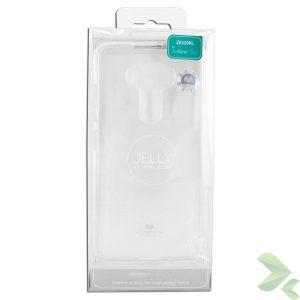 Mercury Transparent Jelly - Etui Asus Zenfone 3 (przezroczysty)