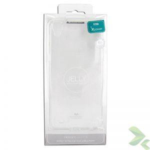 Mercury Transparent Jelly - Etui LG X Power (przezroczysty)