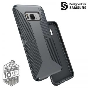 Speck Presidio Grip - Etui Samsung Galaxy S8+ (Graphite Grey/Charcoal Grey)