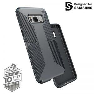 Speck Presidio Grip - Etui Samsung Galaxy S8 (Graphite Grey/Charcoal Grey)