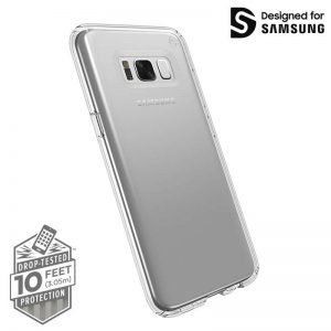 Speck Presidio Clear - Etui Samsung Galaxy S8+ (Clear)