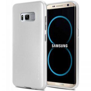 Mercury I-Jelly - Etui Samsung Galaxy S8 (srebrny)