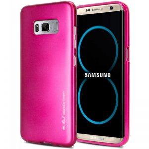 Mercury I-Jelly - Etui Samsung Galaxy S8 (fuksja)