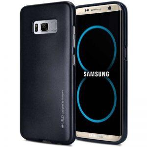 Mercury I-Jelly - Etui Samsung Galaxy S8+ (czarny)