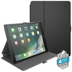"Speck Balance Folio - Etui iPad Air / Pro 10.5"" w/Magnet & Stand up (Black/Slate Grey)"
