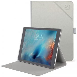 "TUCANO Minerale - Etui iPad Air / Pro 10.5"" (2017)  w/Magnet & Stand up (Silver)"