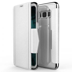 X-Doria Engage Folio - Etui Samsung Galaxy S8 z kieszeniami na kartę (White)