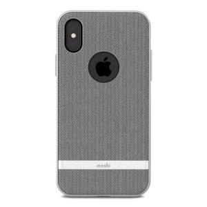 Moshi Vesta - Etui iPhone Xs / X (Herringbone Gray)
