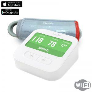 iHealth Clear Smart Wireless Arm Blood Pressure Monitor - Bezprzewodowy ciśnieniomierz naramienny z ekranem