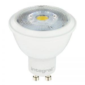 Integral żarówka LED GU10 PAR16 6.8W (50W) 2700K 380lm barwa biała ciepła