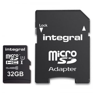 Integral UltimaPro - Karta pamięci 32GB microSDHC/ 40MB/s Class 10 UHS-I U1 + Adapter