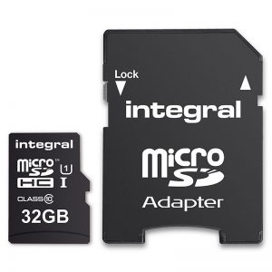 Integral Smartphone and Tablet - Karta pamięci 32GB microSDHC/XC 90MB/s Class 10 UHS-I U1
