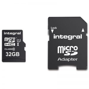 Integral UltimaPro X - Karta pamięci 32GB microSDHC/ 90/45 MB/s Class 10 UHS-I U3 + Adapter