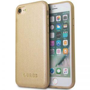 Guess Iridescent - Etui iPhone 8 / 7 (złoty)
