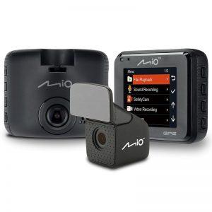 MIO Mivue C380 Dual GPS Drive Recorder - Wideorejestrator samochodowy na tył i przód pojazdu