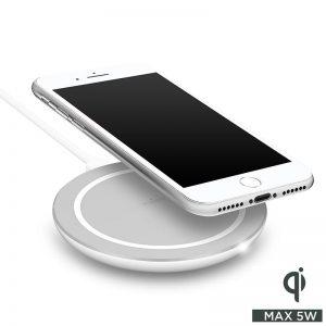 PURO Wireless Charging Station Qi - Bezprzewodowa ładowarka indukcyjna Qi do iPhone i Android