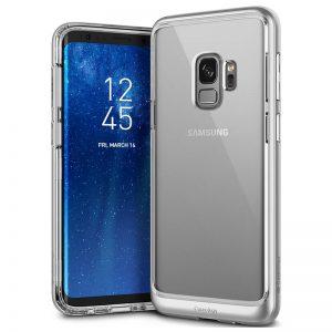 Caseology Skyfall Case - Etui Samsung Galaxy S9 (Silver)
