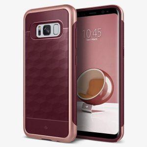 Caseology Parallax Case - Etui Samsung Galaxy S8+ (Burgundy)