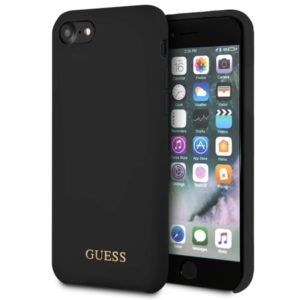 Guess Silicone - Etui iPhone 8 / 7 (czarny)