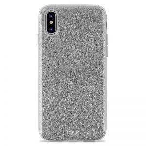 PURO Glitter Shine Cover - Etui iPhone Xs Max (Silver)