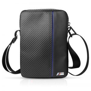 """BMW Urban Collection - Torba na tablet 10"""" (Carbon/Blue Strips)"""