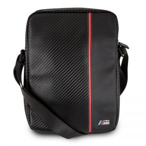 """BMW Urban Collection - Torba na tablet 10"""" (Carbon/Red Strips)"""