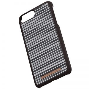 Nordic Elements Saeson Idun - Materiałowe etui iPhone 8 Plus / 7 Plus / 6s Plus / 6 Plus (Dark Brown Pattern 2)