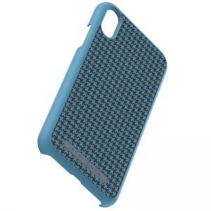 Nordic Elements Saeson Idun - Materiałowe etui iPhone XR (Petrol)