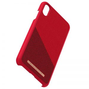 Nordic Elements Saeson Freja - Materiałowe etui iPhone Xs Max (Red)
