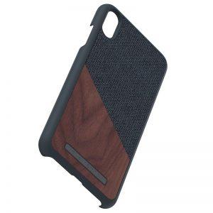 Nordic Elements Saeson Frejr - Drewniane etui iPhone Xs Max (Dark Grey)